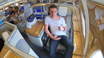 Review: Emirates Airbus A380 Super Jumbo - GoTravelYourWay ...