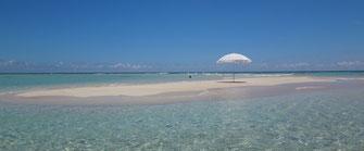 与論島 百合ヶ浜