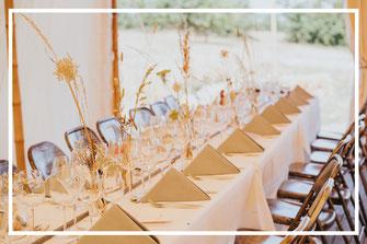 Décoration de table, organisation d'un mariage franco-belge thème champêtre chic, par My Daydream Wedding, wedding planner et décoratrice de mariage à Lille et dans le Nord
