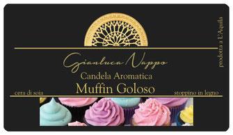 "Candela Aromatica ""Muffin Goloso"""