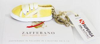 Portachiavi scarpa Zafferano