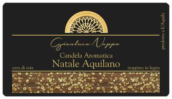 "Candela Aromatica ""Natale Aquilano"""
