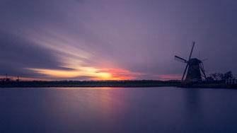 Windmühlen in Kinderdijk von Tobias Gawrisch (Xplor Creativity)