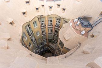 Blick vom Dach der Casa Mila von Tobias Gawrisch (Xplor Creativity)