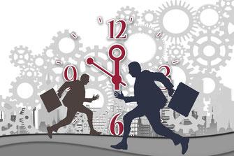 Immer mehr Arbeit? Ständig zu wenig Zeit? Kaum Erholungspausen und Angst, in die Arbeitslosigkeit abzurutschen? Handeln Sie jetzt!