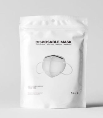 FFP2 Model C KN95 provided by SMART cs | packaging of protective mask