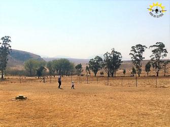 Farmhaus mit riesem Garten in Harrismith/Südafrika.