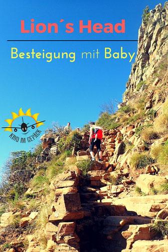 Besteigung des Lions Head in Kapstadt