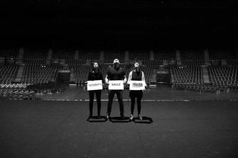 Shooting équipe Zénith de Nantes - A l'unisson. Décembre 2020.