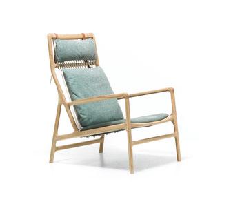 Dedo-Loungesessel-von-Gazzda-aus-Eichenholz