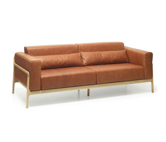 Sofa-Fawn-mit-Lederbezug-in-braun