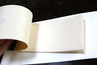 越前手漉き和紙 版画用紙 (見本帳) (3)