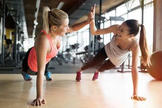 Schönheit und Fitness
