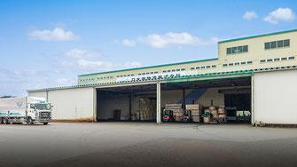 天井クレーン付倉庫(285坪)