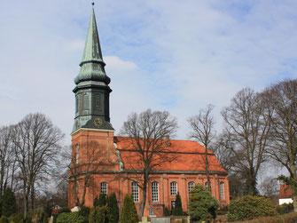 St. Nikolai zu Billwerder, Billwerder Billdeich 138, 1402 zum ersten Mal als eigenständige Pfarrkirche erwähnt.