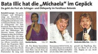 """(""""MARKT"""", Wochenendzeitung für Bad Oldesloe, Reinfeld und Umgebung - 08. März 2014)"""