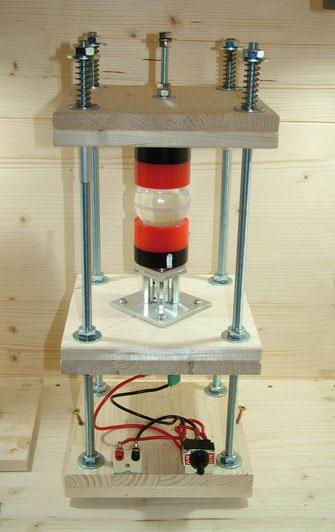 Materie-Reaktor mit Gewindestangen (Es werden 2 Stück benötigt)