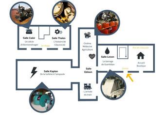 électrothèque lac de guerlédan musée activités électricité expositions collections techniques histoire