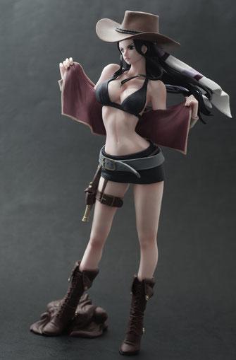 One Piece Nico Robin Premium Figur Flag Diamond Ship Series