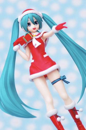 Vocaloid Hatsune Miku SPM Figur Christmas Ver. Project DIVA F 2nd