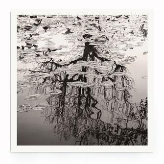 """Floating Lines"" Art Print"
