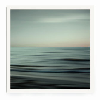 """Waves of Calm"" Art Print von Lena Weisbek"