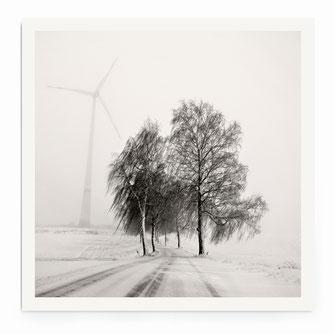 """Foggy Snowscape"" Art Print von Lena Weisbek"