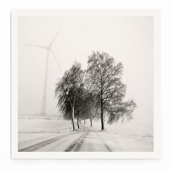 """Foggy Snowscape"" Art Print for Sale"