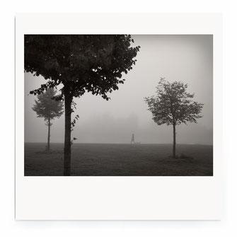 """""""Walking In Fog"""" Art Print von Lena Weisbek"""