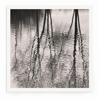 """Reflection Downpour"" Art Print von Lena Weisbek"
