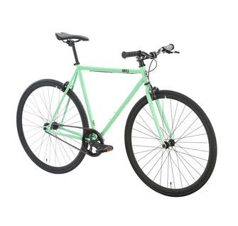 Singlespeed pastell grün 6KU Milan 2