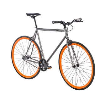 Singlespeed anthrazit orange 6KU Barcelona