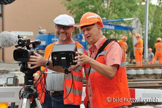 Filmteam, bild huttwil gmbh, Bahnhof, Huttwil