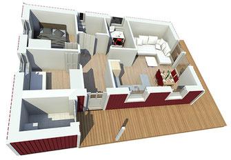 Haus Aalborg 75 innen