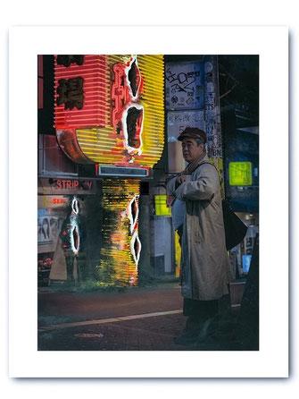 Photo Art Print: Shibuya Detective
