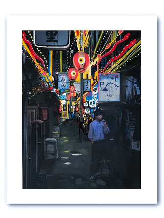 Photo Art Print: Shibuya Alley