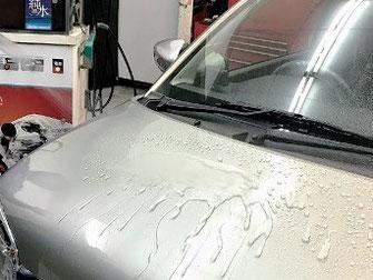 キーパーコーティング限定 ミネラル取り洗車