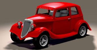 diseño y modificacion de autos en fibra  de vidrio