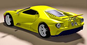 tuning diseño de autos en fibra de vidrio
