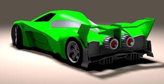 tuning car, modificación de autos en fibra de vidrio