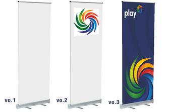 PVC λευκό - με logo ή εκτύπωση