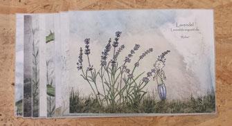 Kräuter Tischset Lavendel