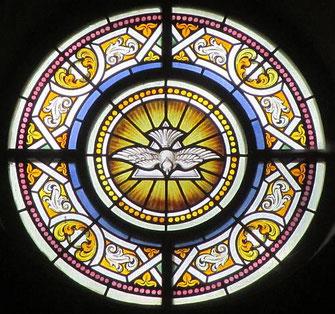 """""""Komm, heiliger Geist, erfülle die Herzen deiner Gläubigen und entzünde in ihnen das Feuer deiner Liebe."""" (Zweiter Zwischengesang zum Evangelium)"""