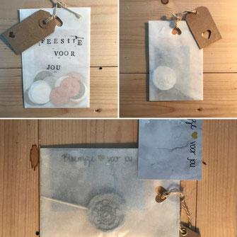 Verschillende andere mogelijkheden voor kleine persoonlijke cadeautjes