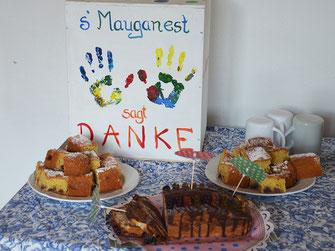 ´s Mauganest sagt Danke zu allen Unterstützern
