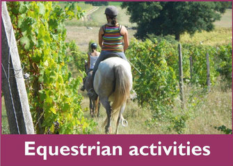 Equestrian activities vic-bilh madiran