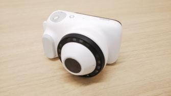 ダーマスコピーカメラです。皮疹を拡大して撮影します。
