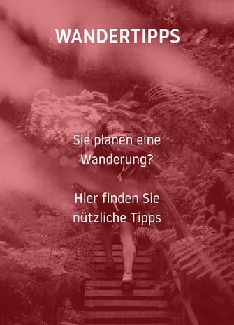 Wandertipps