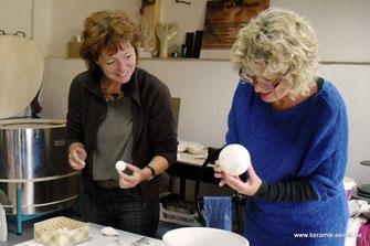 Keramikkurse im Keramik Atelier in Gailingen, töpfern, töpferkurse