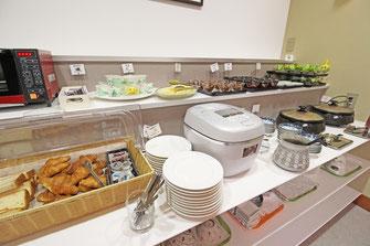 ホテルアマービレ舞鶴の朝食バイキング